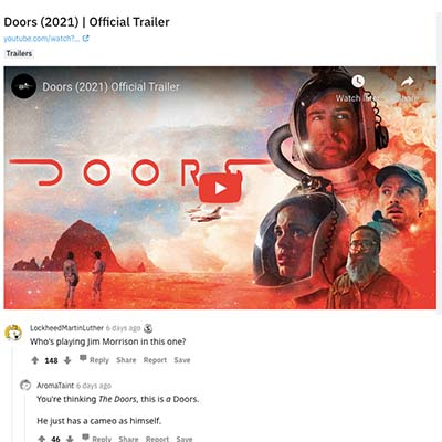 Doors (2021) | Official Trailer