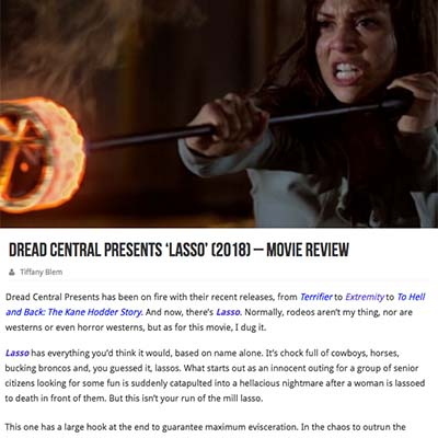 Dread Central Presents 'Lasso' (2018) – Movie Review