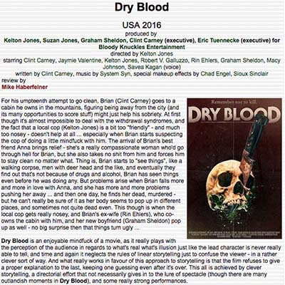 Dry Blood Film Review