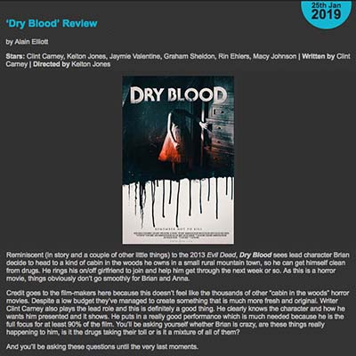 Dry Blood Review (2019)