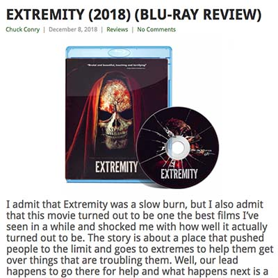 EXTREMITY (2018) (BLU-RAY REVIEW)