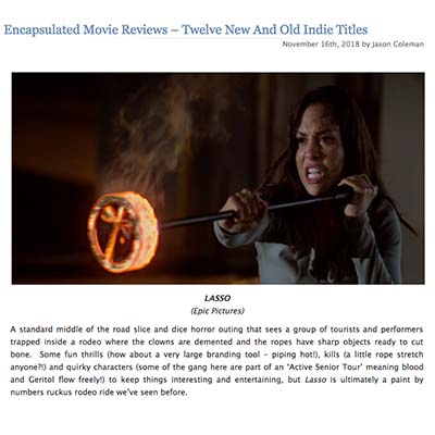 Encapsulated Movie Reviews – Twelve New And Old Indie Titles