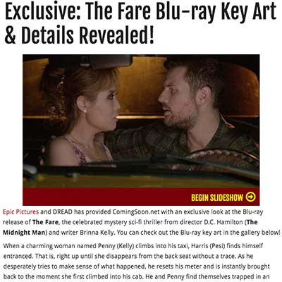 Exclusive: The Fare Blu-ray Key Art & Details Revealed!
