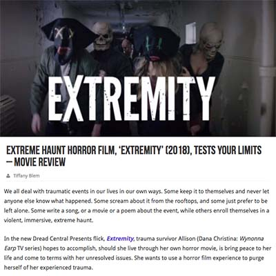 Extreme Haunt Horror Film, 'Extremity' (2018), Tests Your Limits – movie Review