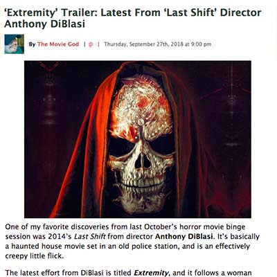 'Extremity' Trailer: Latest From 'Last Shift' Director Anthony DiBlasi