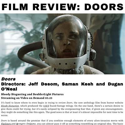 FILM REVIEW: DOORS