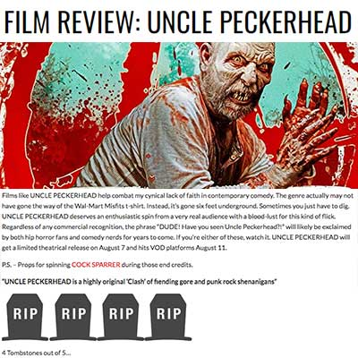 FILM REVIEW: UNCLE PECKERHEAD - Film Review