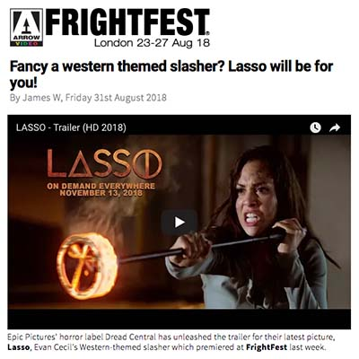 Fancy a western themed slasher? Lasso will be for you!