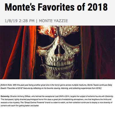 Favorites of 2018 Monte's Favorites of 2018