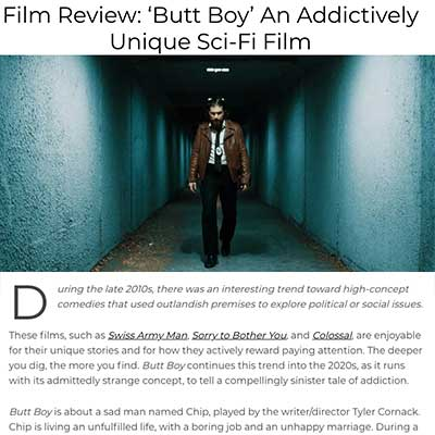 Film Review: 'Butt Boy' An Addictively Unique Sci-Fi Film
