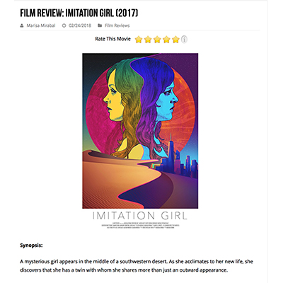 Film Review: Imitation Girl