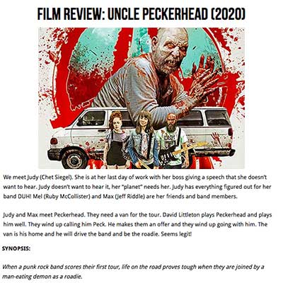 Film Review: Uncle Peckerhead (2020)