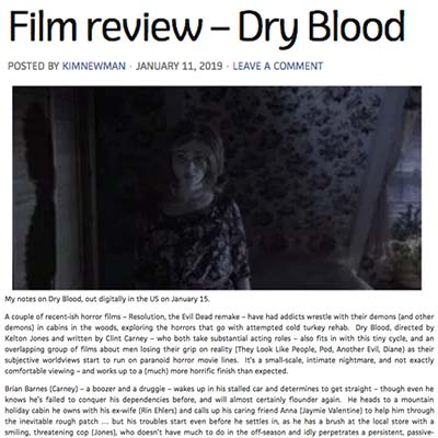 Film review – Dry Blood