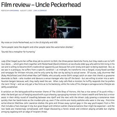 Film review – Uncle Peckerhead