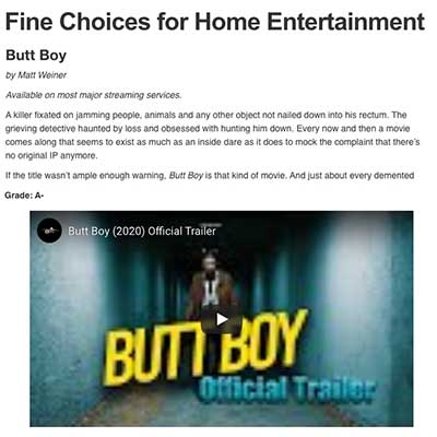 Fine Choices for Home Entertainment