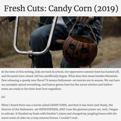Fresh Cuts: Candy Corn (2019)