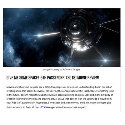 Give Me Some Space! '5th Passenger' Movie Review