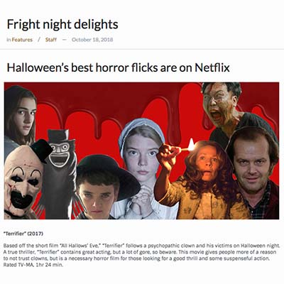 Halloween's best horror flicks are on Netflix