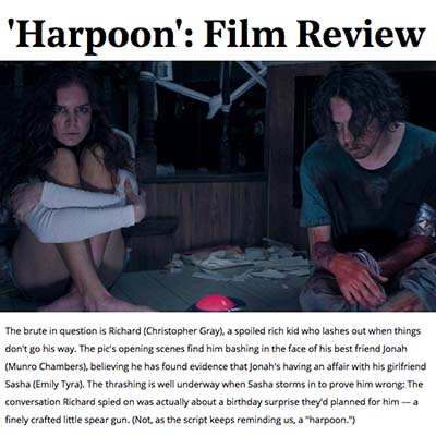 'Harpoon': Film Review