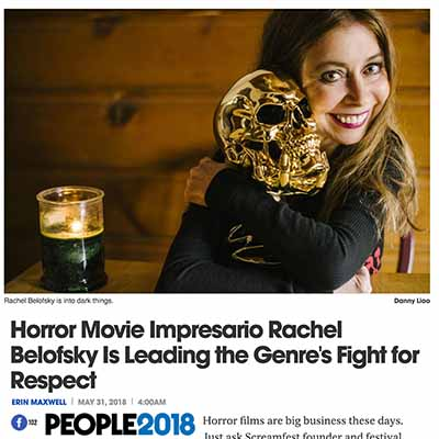 Horror Movie Impresario Rachel Belofsky Is Leading the Genre's Fight for Respect