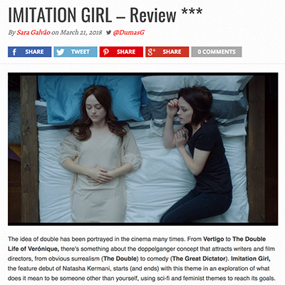 IMITATION GIRL – Review ***