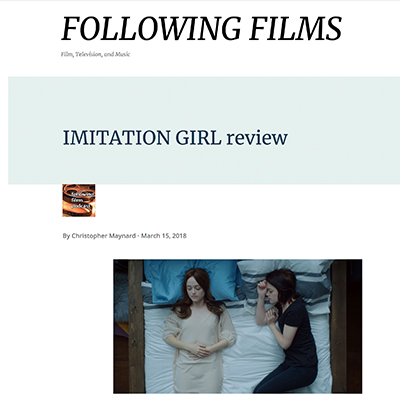 IMITATION GIRL review