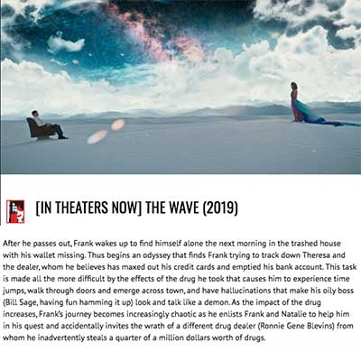 [IN THEATERS NOW] THE WAVE (2019)