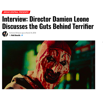 Interview: Director Damien Leone Discusses the Guts Behind Terrifier