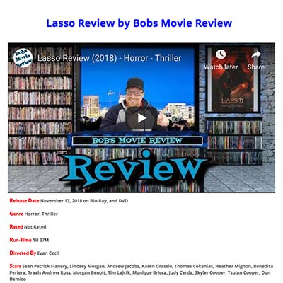 Lasso Review by Bobs Movie Review