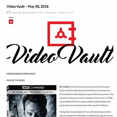 MARK BURGER'S VIDEO VAULT