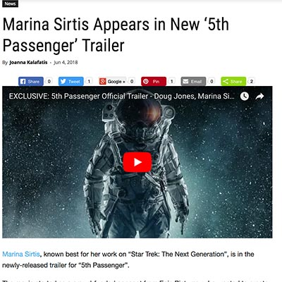 Marina Sirtis Appears in New '5th Passenger' Trailer
