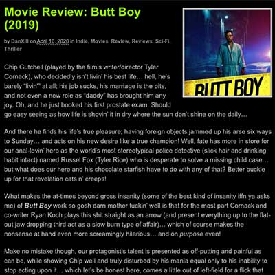 Movie Review – Butt Boy (2019)