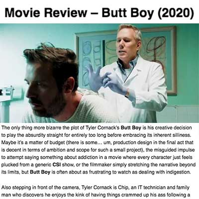 Movie Review – Butt Boy (2020)