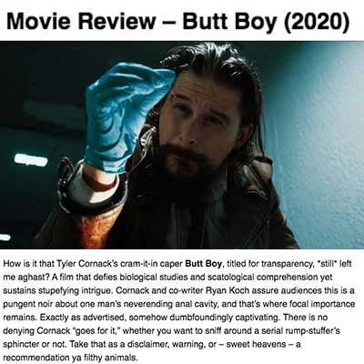 Movie Review – Butt Boy (2020) (2)