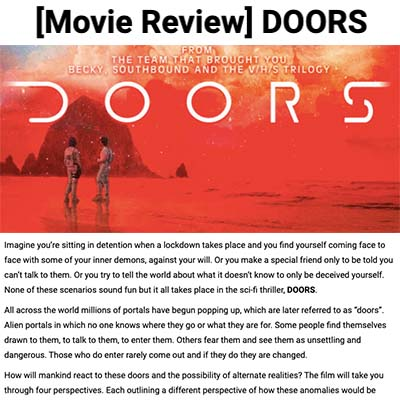 [Movie Review] DOORS