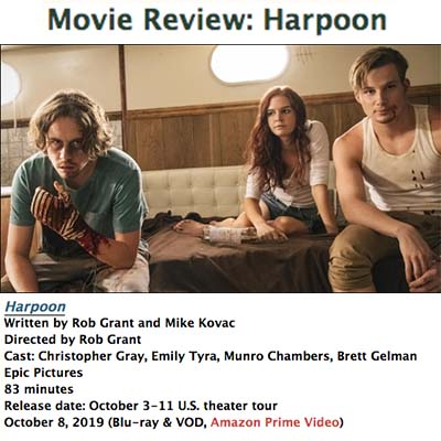 Movie Review: Harpoon