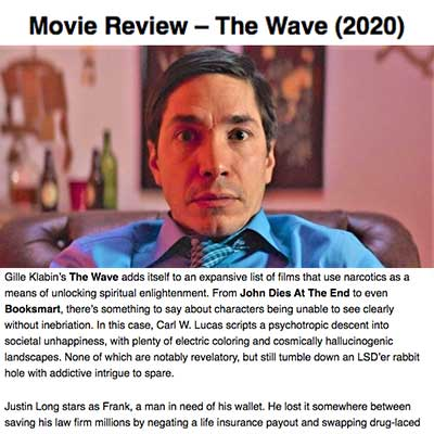 Movie Review – The Wave (2020)