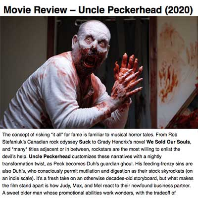 Movie Review: Uncle Peckerhead (2020)