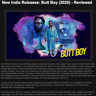 New Indie Releases: Butt Boy (2020) - Reviewed