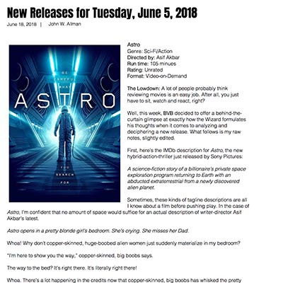 New Releases for Tuesday, June 5, 2018