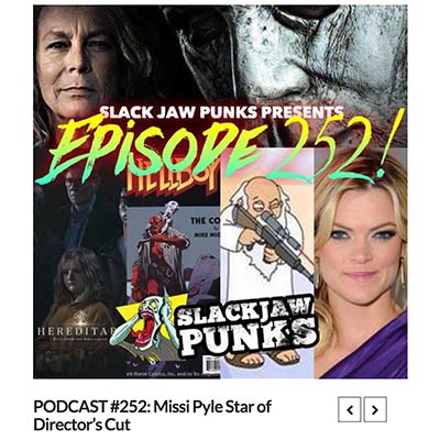 PODCAST #252: Missi Pyle Star of Director's Cut