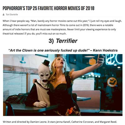 PopHorror's Top 25 Favorite Horror Movies of 2018