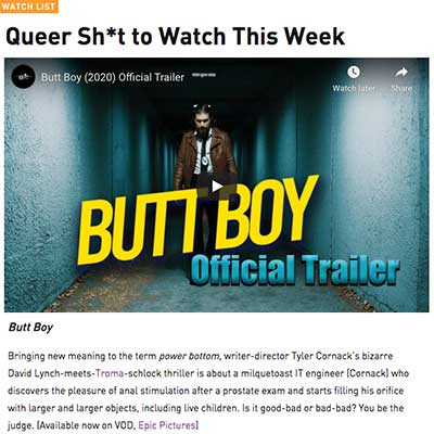 Queer Sh*t to Watch This Week