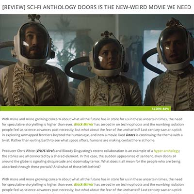 [REVIEW] SCI-FI ANTHOLOGY DOORS IS THE NEW-WEIRD MOVIE WE NEED