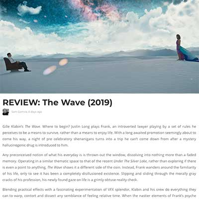 REVIEW: The Wave (2020)