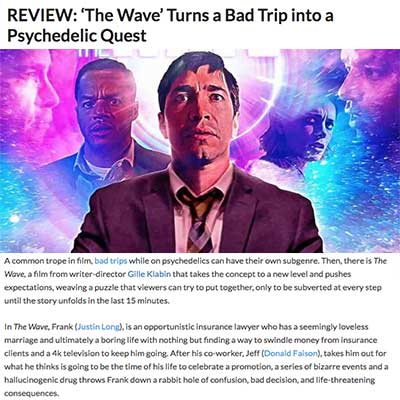 REVIEW: 'The Wave' Turns a Bad Trip into a Psychedelic Quest