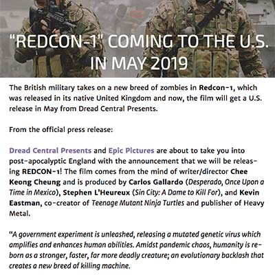 Redcon-1 coming to the U.S. in May 2019