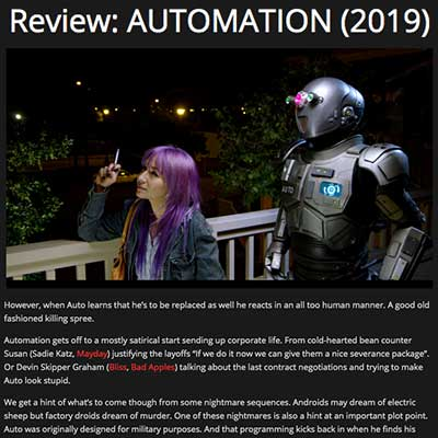 Review: AUTOMATION (2019)