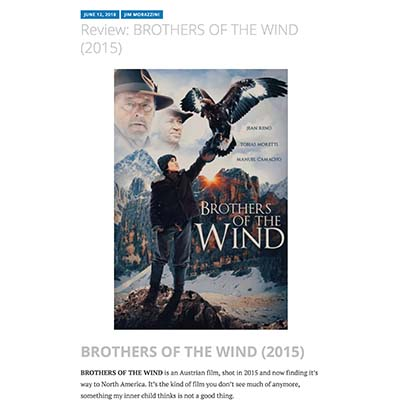 Review: BROTHERS OF THE WIND