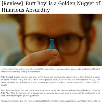 [Review] 'Butt Boy' is a Golden Nugget of Hilarious Absurdity